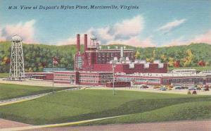 Virginia Martinsville View Of Duponts Nylon Plant