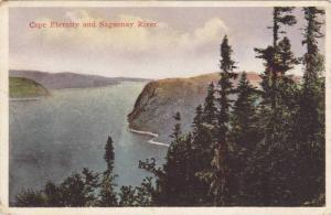 Cape Eternity and Saguenay River, Quebec, Canada, PU-1930