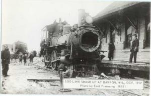 RP Soo Line Wreck May 7 1916 Train # 8
