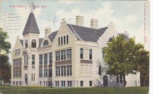 High School Portage Wisconsin 1909