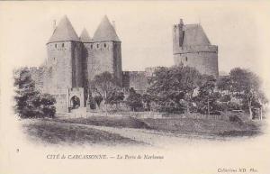 La Porte De Narbonne, Cite De Carcassonne (Aude), France, 1900-1910s