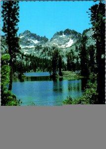 Vintage Idaho Souvenir Postcard, Sawtooth Wilderness.  pb24