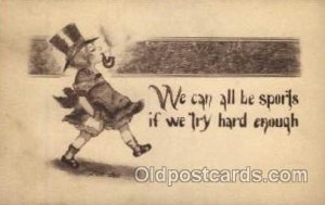 Artist Cobb Shinn ( Tom Yad) Children Smoking Postcard Postcards Artist Cobb ...