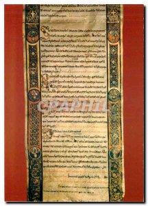 Postcard Modern Bari Benedizionale Sequenze della formula della benedicto sin...