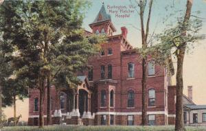 BURLINGTON, Vermont, 00-10s; Mary Fletcher Hospital
