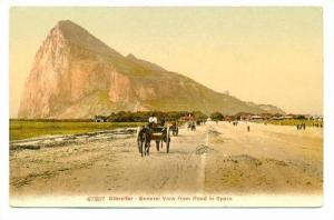 General View From Road To Spain, Gibraltar, 1900-1910s