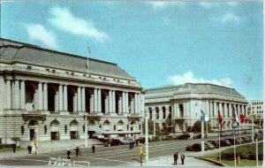 San Francisco Opera House Union Oil Co California Postcard