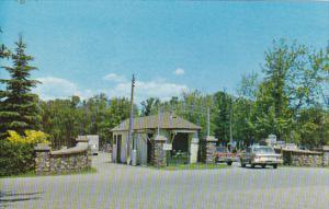 Canada Entrance To Innisfil Park Lake Simcoe Ontario