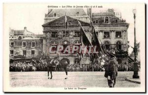 Postcard Old Orleans fiestas Jeanne d & # 39arc 7 and 8 May the salvation to ...