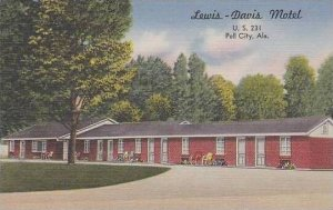Alabama Pell City  Lewis  Davis Motel