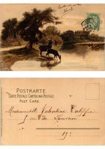 CPA Von Bergeshohn Meissner & Buch Litho Serie 1264 (730469)