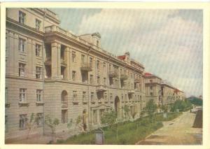 Ukraine, Lvov, Turgenev Street, 1962 unused Postcard