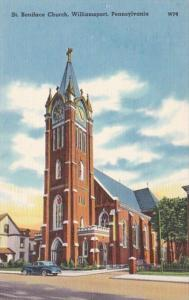 Pennsylvania Williamsport St Boniface Church 1945