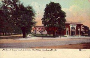 1912 FLATBUSH TRUST AND LIBRARY BUILDING, FLATBUSH, N. Y.