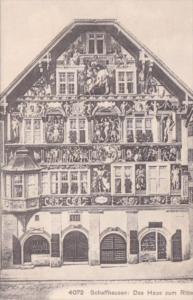 Germany Schaffhausen Das Haus zum Ritter