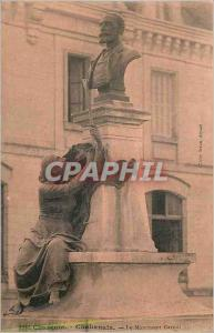 Postcard Old Charente Chabanais Carnot Monument