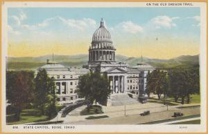 Boise, Idaho, State Capitol Building - On the Old Oregon Trail