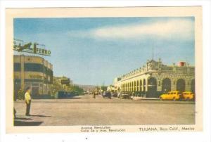 Avenue Revolution, Tijuana, Baja California, Mexico, 1910-1930s