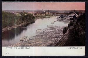 Cotton and Lumber Mills,Marysville,New Brunswick,Canada BIN