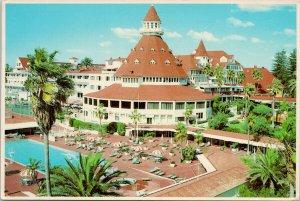 Hotel Del Coronado San Diego CA Coronado Island Vintage Postcard C5
