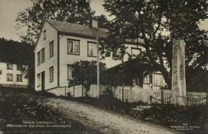 norway norge, NESSET ROMSDALEN, Bjørnstjerne Bjørnsons Barndomshjem (1934) RPPC