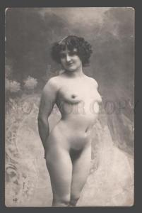 101256 NUDE Woman BELLE Vintage REAL PHOTO PC