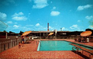 Mississippi Meridian Nelva Courts and Restaurant Swimming Pool