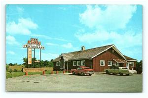 Postcard VA White Post The Farm Restaurant Southern Cooking G08