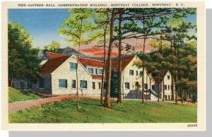 Montreat, NC Postcard,Montreat College/Gaiter Hall, Nr Mint!