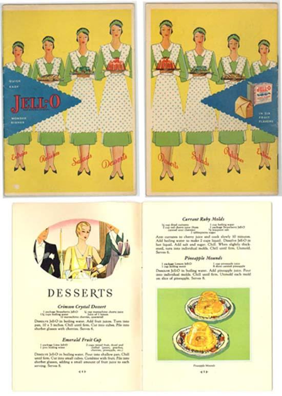 JELL-O AD BOOKLET, 1930