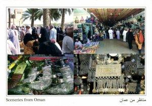 PC CPA OMAN, SCENERIES FROM OMAN, Modern Postcard (b22470)