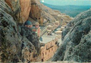 Post card Syria Maaloula Convent view