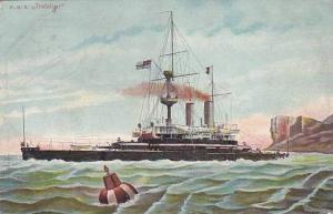 H.M.S. Trafalcar, Warship, PU-1905