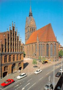Hannover Marktkirche Altes Rathaus Town Hall Church Auto Cars