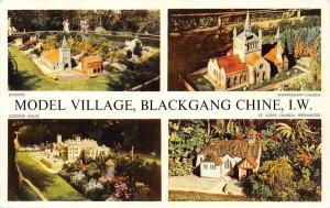 I.W. Model Village, Blackgang Chine, Brading, Whippingham Church, multiview