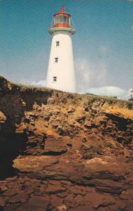 Point Prim Lighthouse , P.E.I. , Canada , 50-60s