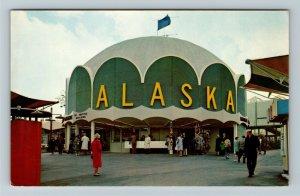Seattle WA-Washington, World's Fair - Exposition d' Alaska Exhibit Postcard