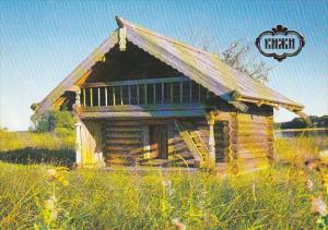Russia Kizhi Barn Of The Kiprushkins From The Village Of Kokkoila 1892