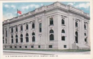 Virginia Newport News United States Custom House and Post Office