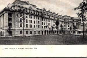 Michigan Battle Creek Sanatorium Largest Sanatorium In The World 1907
