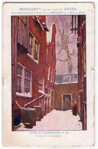 Bensdorp's Royal Dutch Cocoa, Boston MA