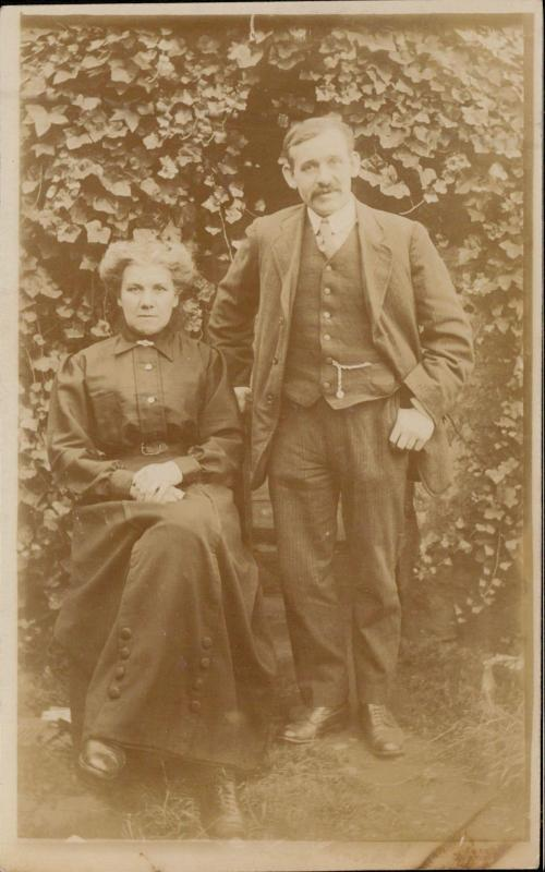 unknown persons couple real photo portrait