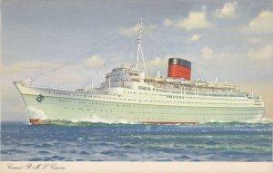 Cunard R. M. S. Caronia, 1940s