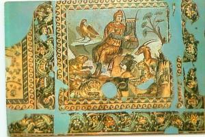 Postcard Turkey Hatay Antakya Museum Mosaic Tarsus  Free Shipping  #2575A