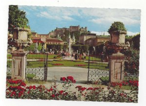 Austria Salzburg Entrance Mirabell Palace Mirabellgarten Vtg 4X6 Postcard