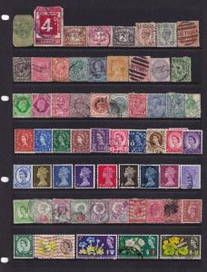 German British Peru USA Queen Victoria Old Stamp Bundle Job Lot