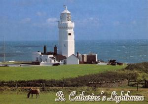 Isle of Wight Postcard St Catherines Lighthouse Niton by W.J Nigh & Sons Ltd Q27