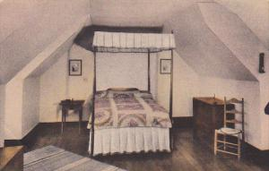 Bedroom Michie's Old Tavern Charlottesville Virginia Handcolored Albertype