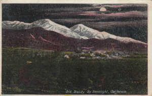 Old Baldy by Moonlight, CALIFORNIA, 1919
