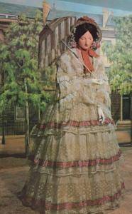 Victorian Summer Dress & Jacket Bath Avon Waxwork Somerset Costume Postcard